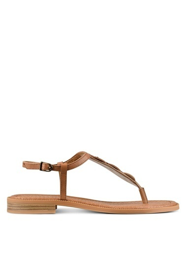 Nine West Sandalet Taba